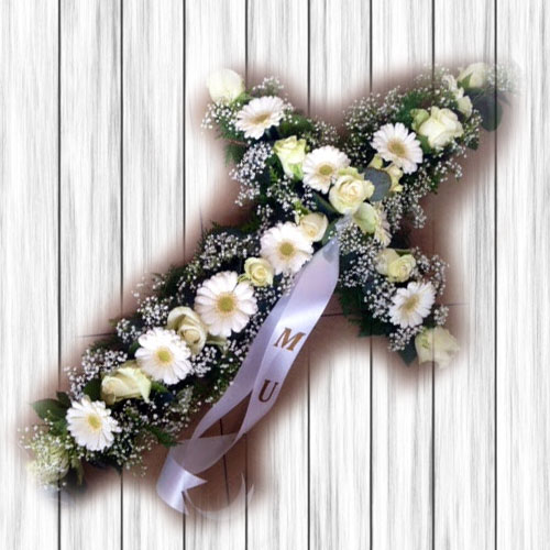 Cross Shaped Wreath