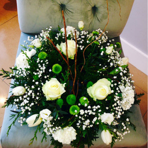 Standard Round Funeral Wreath Killorglin Flowers