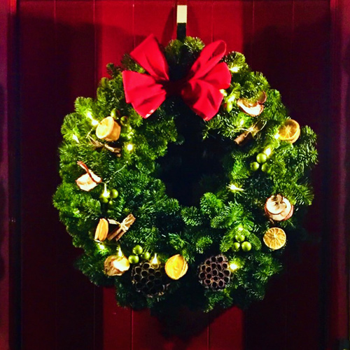 Deluxe Door Wreath